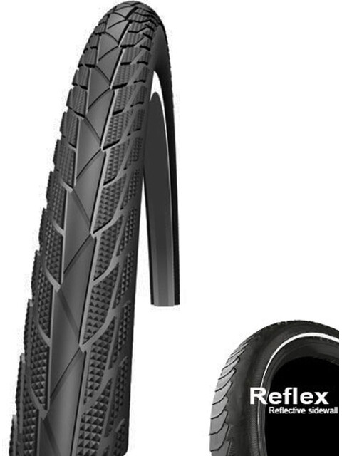 "Impac StreetPac PP Bike Tyre 28"" Reflex black"